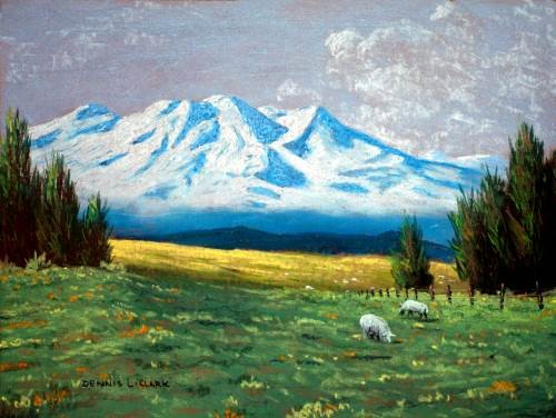 500x376 How To Draw A Snow Capped Mountain In Pastel Online Art Lessons