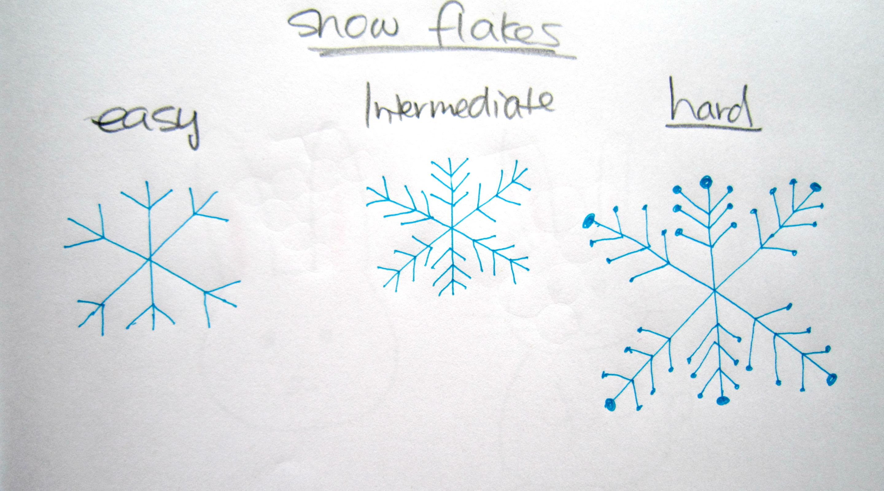 How to draw snow 72