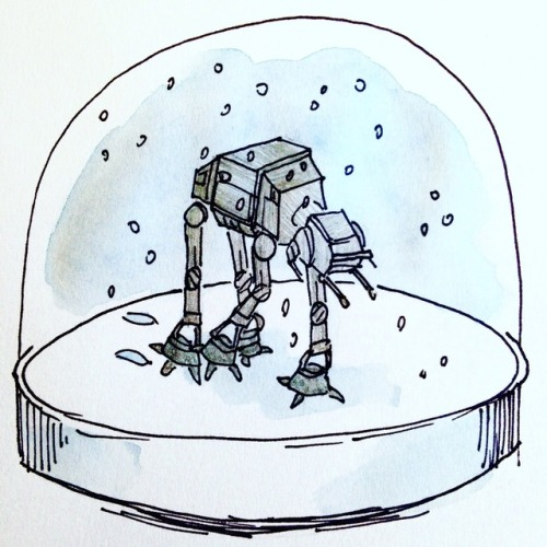 500x500 Snow Globe Drawing Tumblr