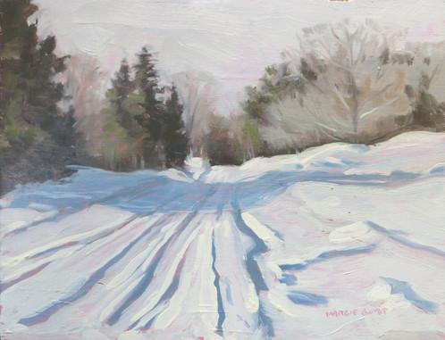 498x381 Fresh Coat Of Snow Margie Guyot, Artist