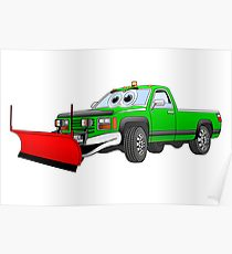 210x230 Cartoon Truck Snow Plow Drawing Gifts Amp Merchandise Redbubble