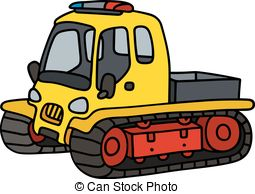 255x194 Funny Yellow Snowplow. Hand Drawing Of A Funny Yellow Small Eps