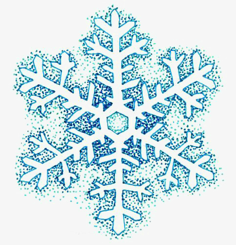 483x500 Cartoon Snow, Snowflake, Creative Snowflakes, Drawing Snowflake