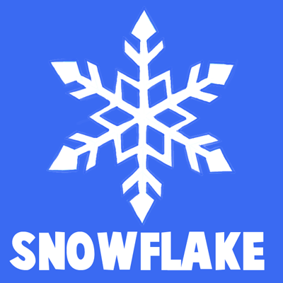 400x400 How To Draw A Snowflake Step By Step Drawing Tutorial