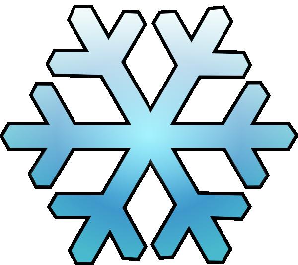 600x533 Snowflake Cartoon Clipart