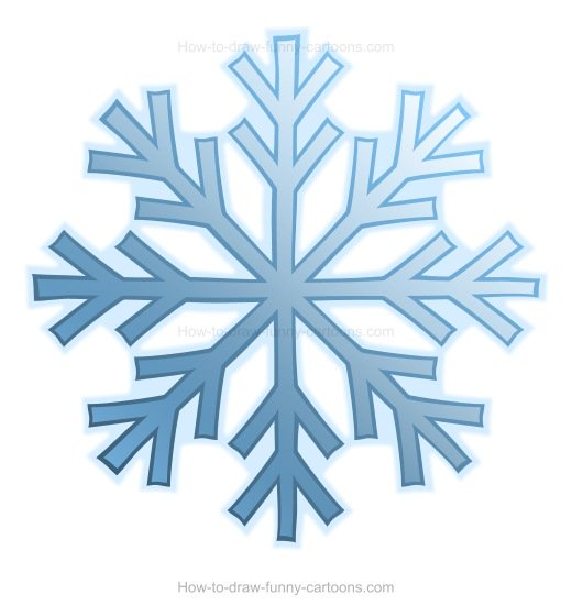 520x551 To Draw A Snowflake