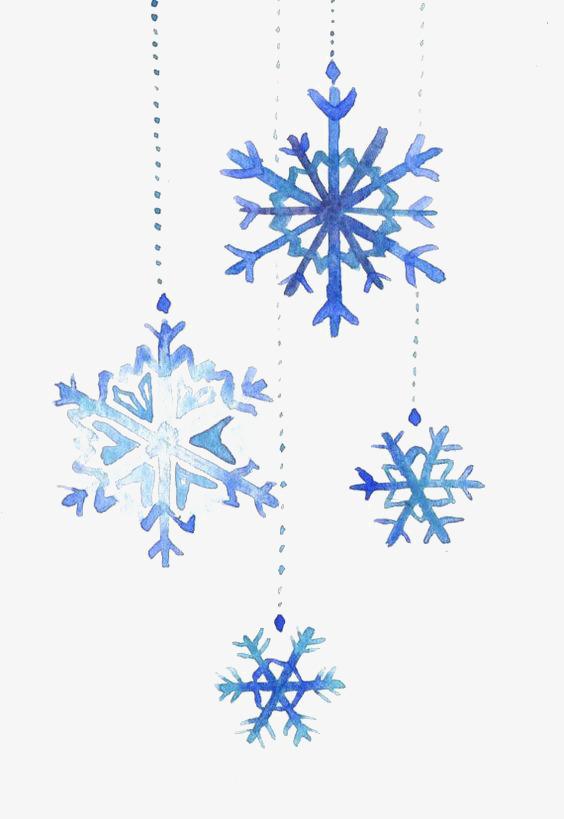 564x819 Drawing Snowflake, Illustration, Cartoon, Hand Painted Png Image