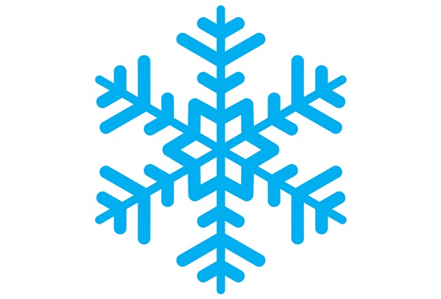 644x437 How To Draw A Snowflake