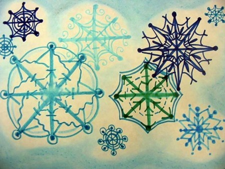 450x338 49 Best Snowflakes, Starflakes And Such Images