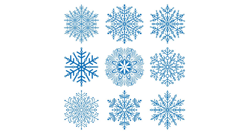 850x458 How To Draw A Snowflake