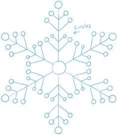 236x272 How To Draw A Snowflake Easy Art Instructions On How To Draw By