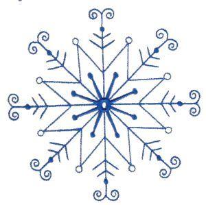 300x299 Snowflakes 7 Desene Embroidery, Woodburning