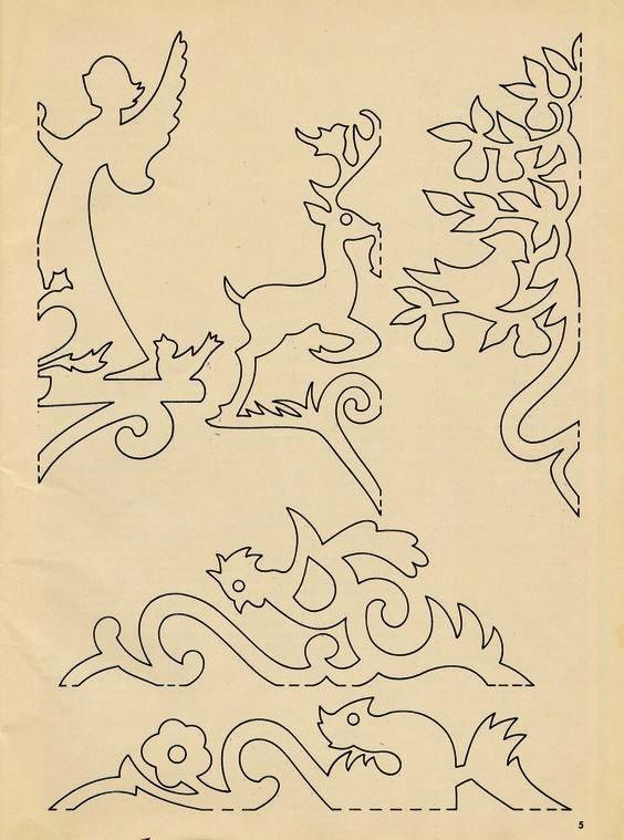 564x759 Wycinanki, Motyle Do Wyciecia, Wzory Motyli, Butterflies Patterns