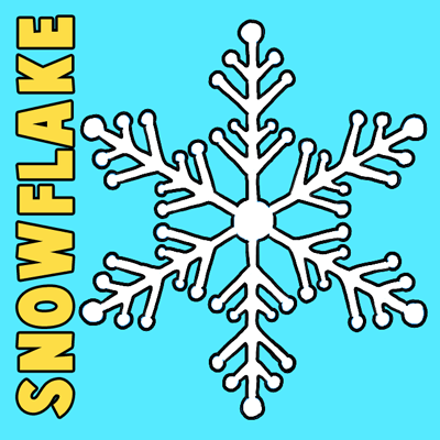 Snowflake Easy Drawing at GetDrawings com | Free for