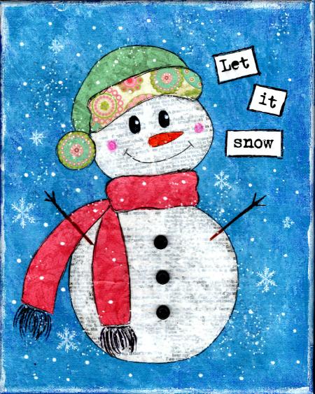 450x563 Winter Wonderland Mixed Media Workshop