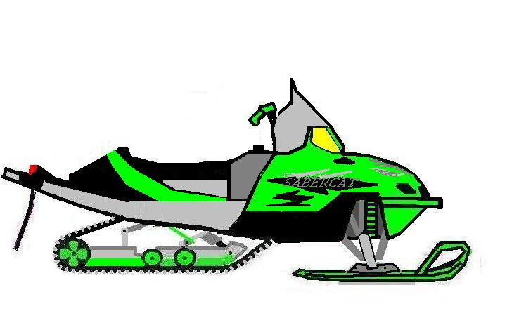 738x453 Snowmobile Drawings