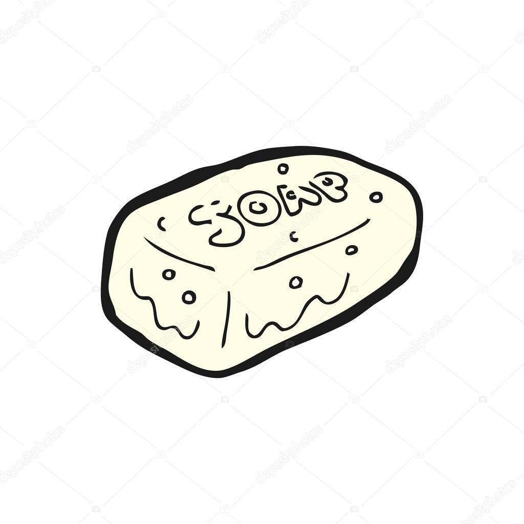 1024x1024 Bar Of Soap Cartoon Stock Vector Lineartestpilot