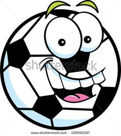 236x265 Cute Soccer Ball Cartoon Mascot Character Giving A Thumb Up