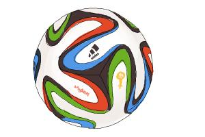 300x200 How To Draw A Soccer Ball