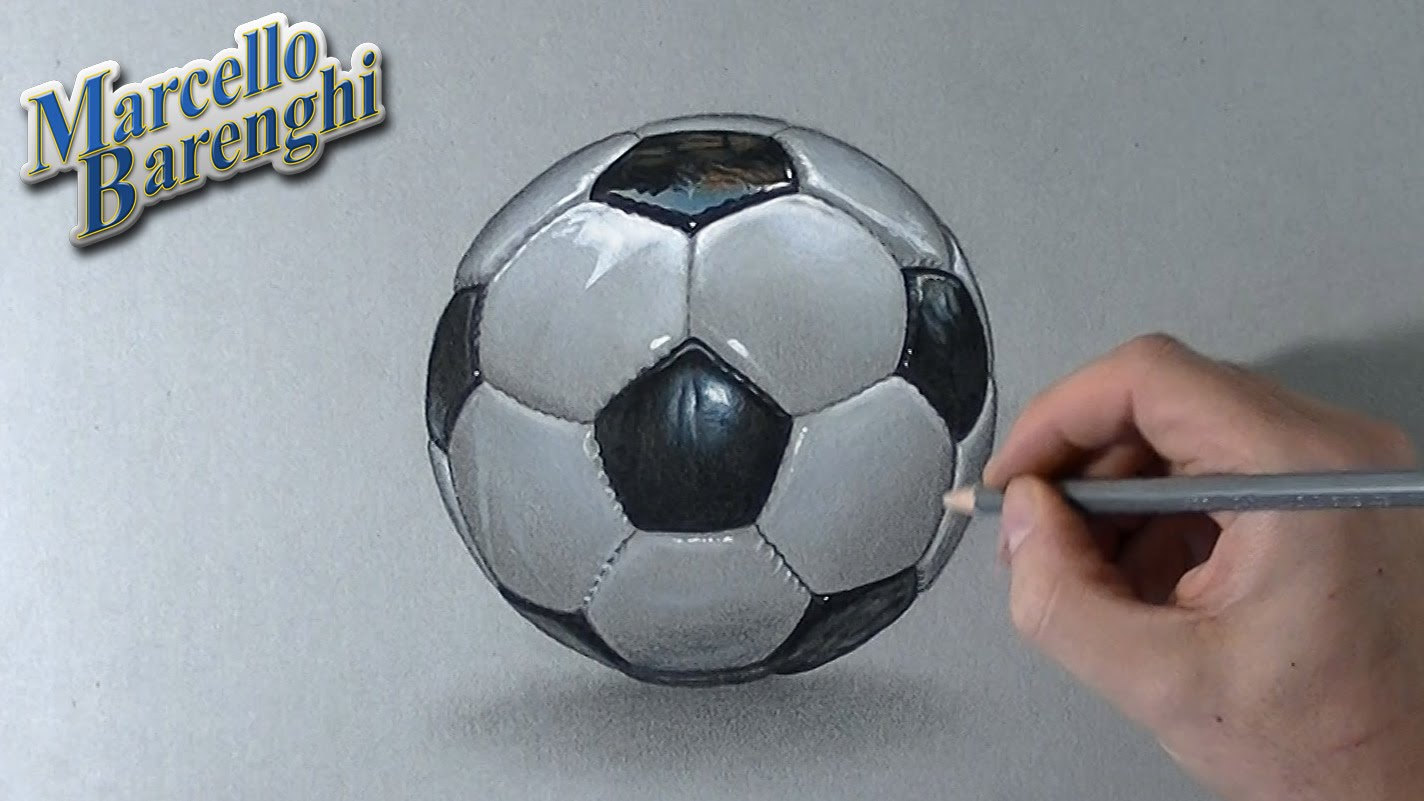 1424x801 How To Draw A 3d Ball