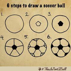 236x236 How To Draw A Soccer Art Stuff Soccer Ball