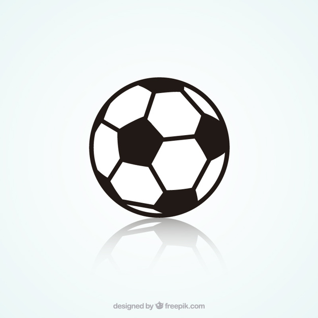 soccer ball drawing template