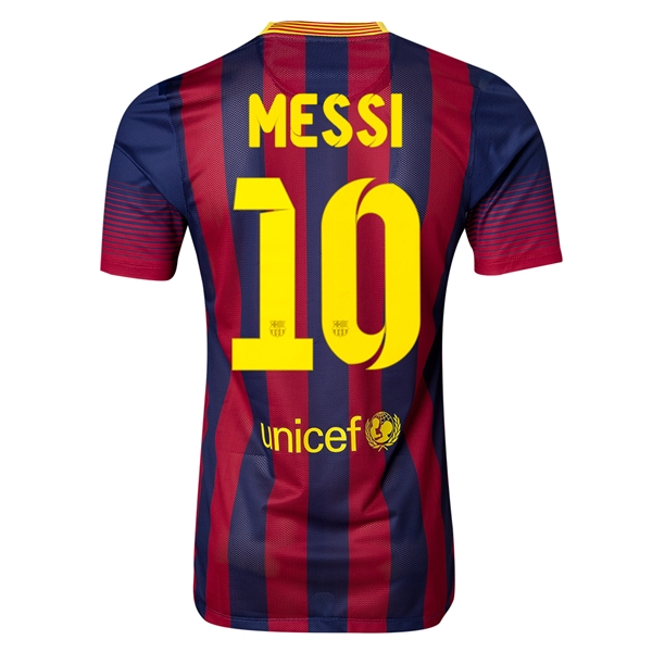 600x600 Barcelona 1314 Messi Authentic Home Soccer Jersey Soccer Is