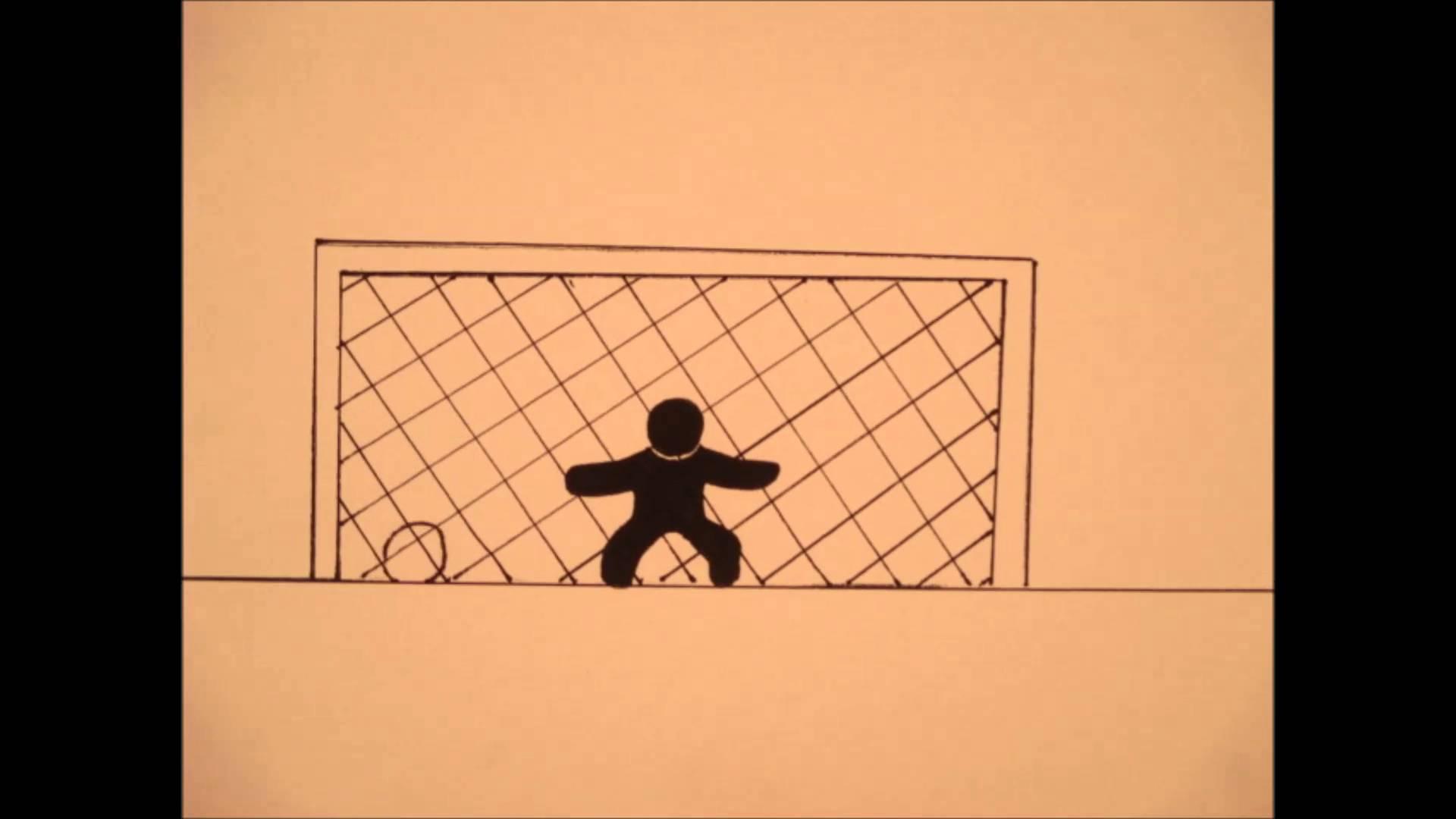 1920x1080 Soccer Goal Drawn Animation By Mabbott