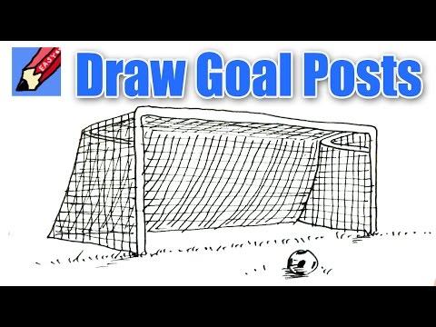 480x360 Soccer Goal Drawing