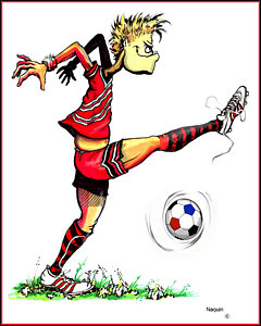 240x300 Soccer Player Drawings