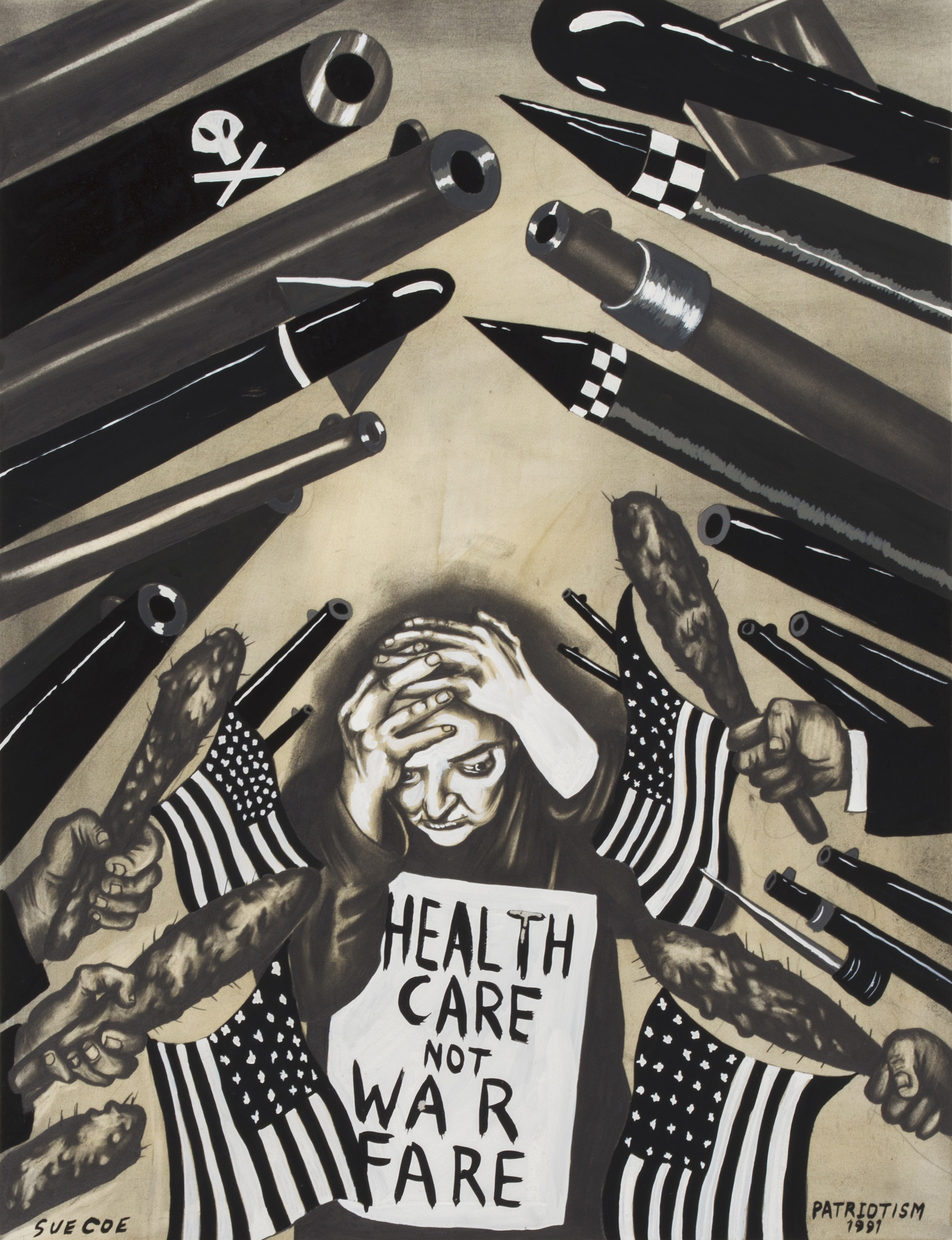 1999x2604 Artist Sue Coe Takes Up Kollwitz's Social Justice Crusade
