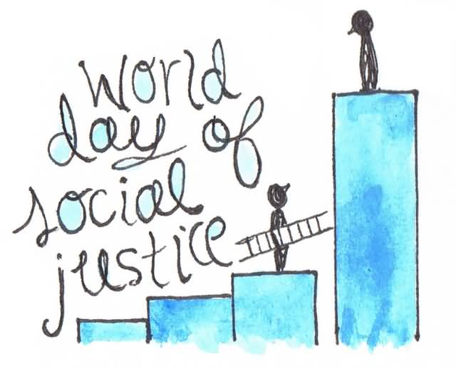 640x518 World Day Of Social Justice Drawing