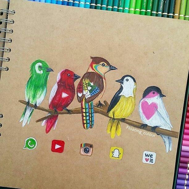 612x612 Pin By Thatonecurlychick 2003 On Social Media Inspired Drawings