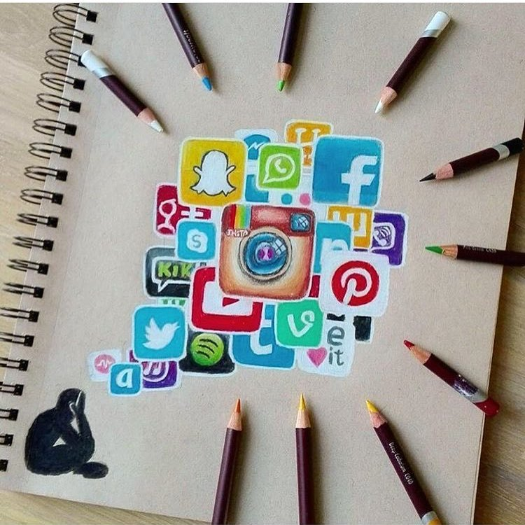 750x750 Social Media Addiction By Artscloud Amp Artistic Bros Clickker News