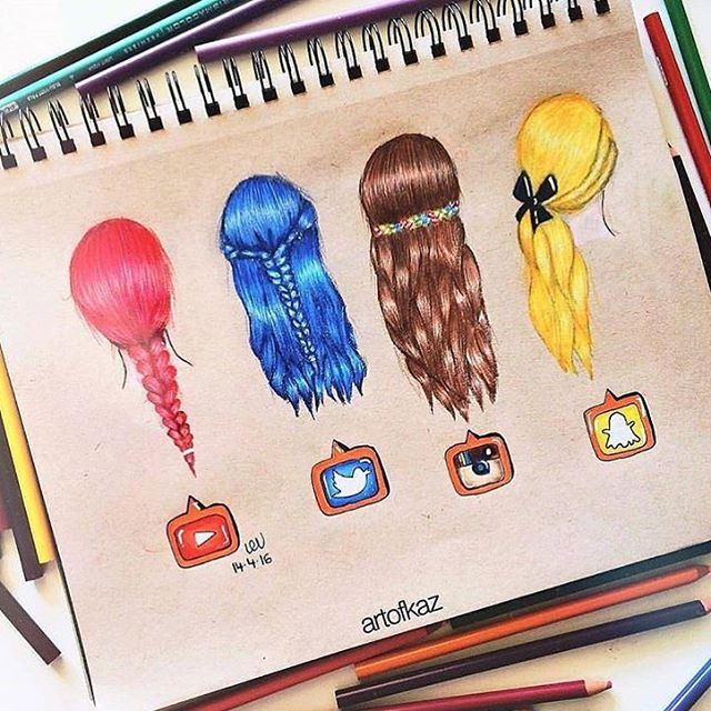 640x640 Social Media Hairstyles! Follow Us @just Arts Help By @artofkaz