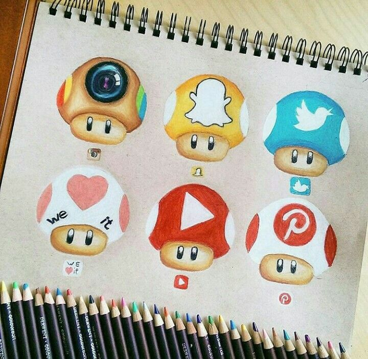 720x701 Social Media Toads Dibujos Toad, Drawings
