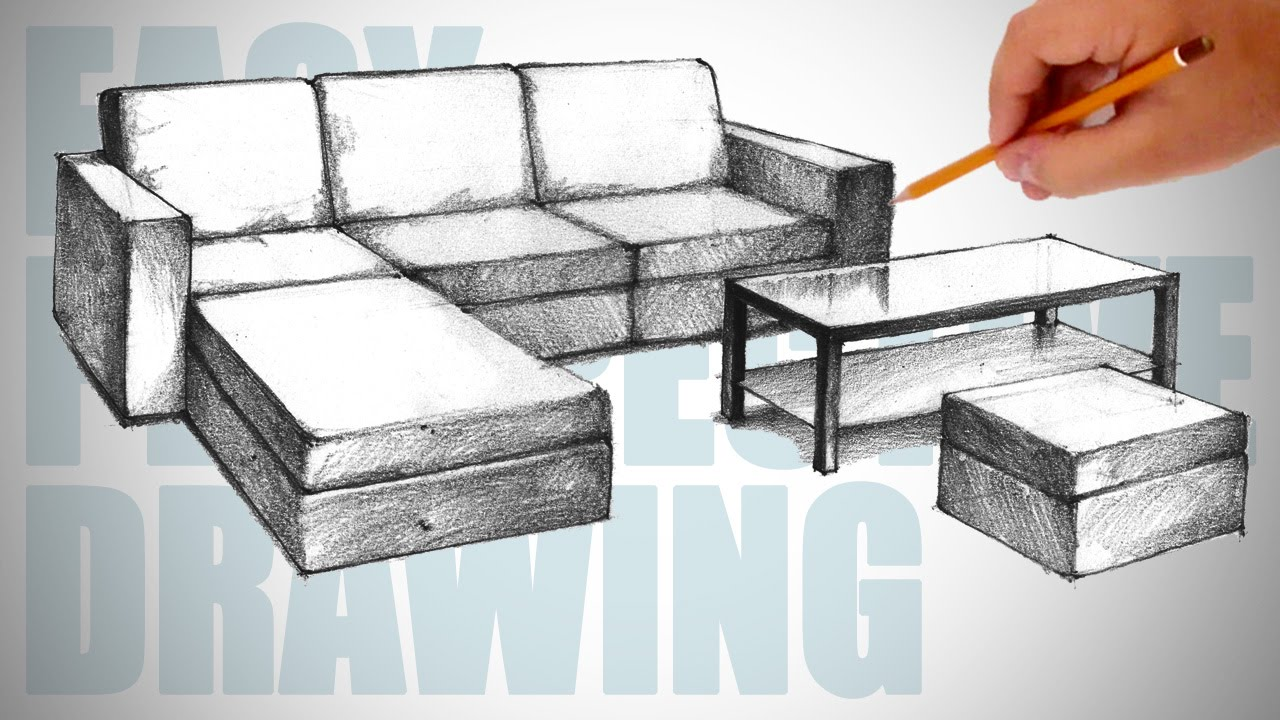 Sofa Chair Drawing At Getdrawings Com Free For Personal