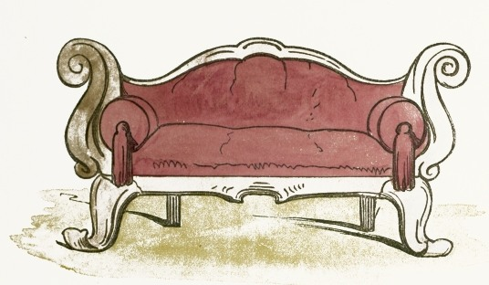 fancy couch drawing.  Fancy 536x312 Sofa Glamorous Chair Clip Art 1015638 Intended Fancy Couch Drawing