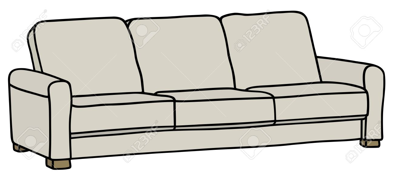 Sofa Drawing At Getdrawings Com Free For Personal Use