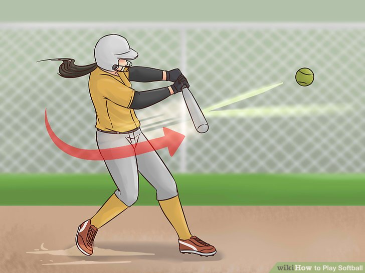 728x546 How To Play Softball (With Pictures)