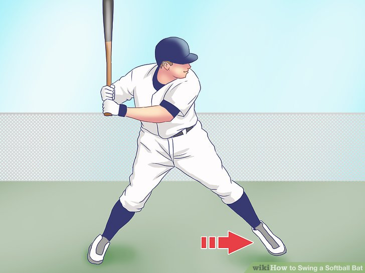 728x546 How To Swing A Softball Bat 11 Steps (With Pictures)