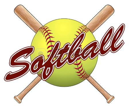 450x375 Softball Bat Clipart Free Softball With Crossed Bats And Ball