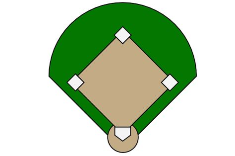 474x314 Printable Baseball Diamond Diagram Baseball