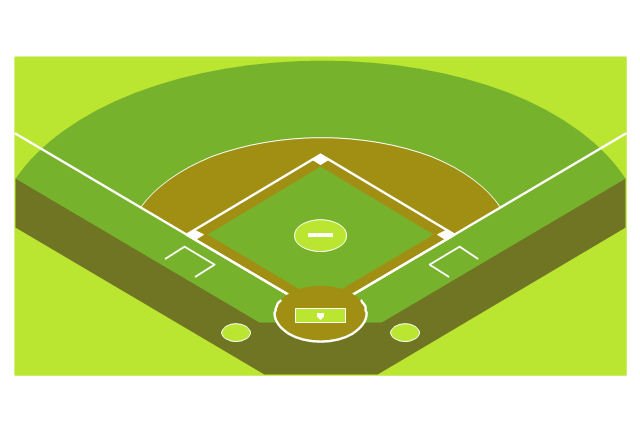 Softball Diamond Drawing At Getdrawings Com