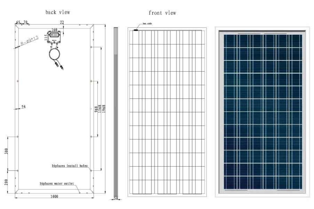 1064x708 Alp 260d 24 260 Watt Solar Panel From Alex Solar