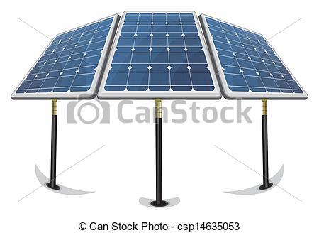 450x328 Solar Panels Clipart Vector