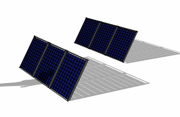 612x400 Using Google Sketchup To Visualize Array Shading Civicsolar