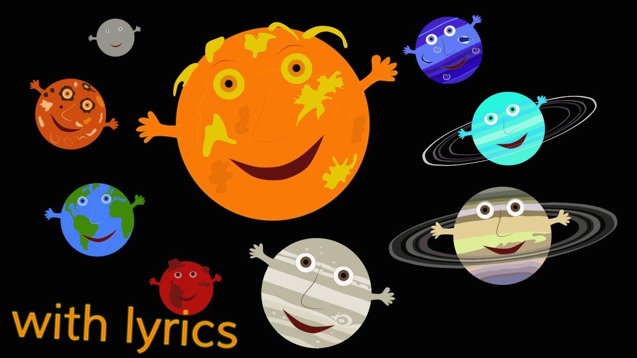 1280x720 The Solar System Song (With Lyrics)