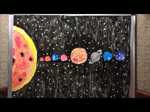 480x360 Solar System Drawing