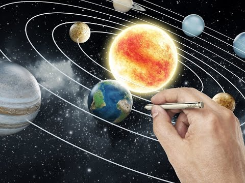 480x360 How To Draw Realistic Solar System (Easy)